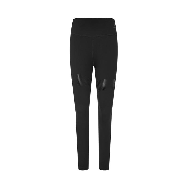 【景甜同款】特步 专柜款 女子紧身裤 20年新款跑步专业训练锻炼裤980328580023