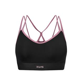 特步 专柜款 女子运动胸衣 20年新款 低强度支撑专业健身内衣980328590579