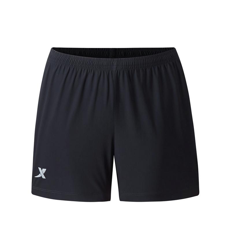 特步 专柜款 女子运动短裤 夏新款 宽松运动针织短裤980328600438