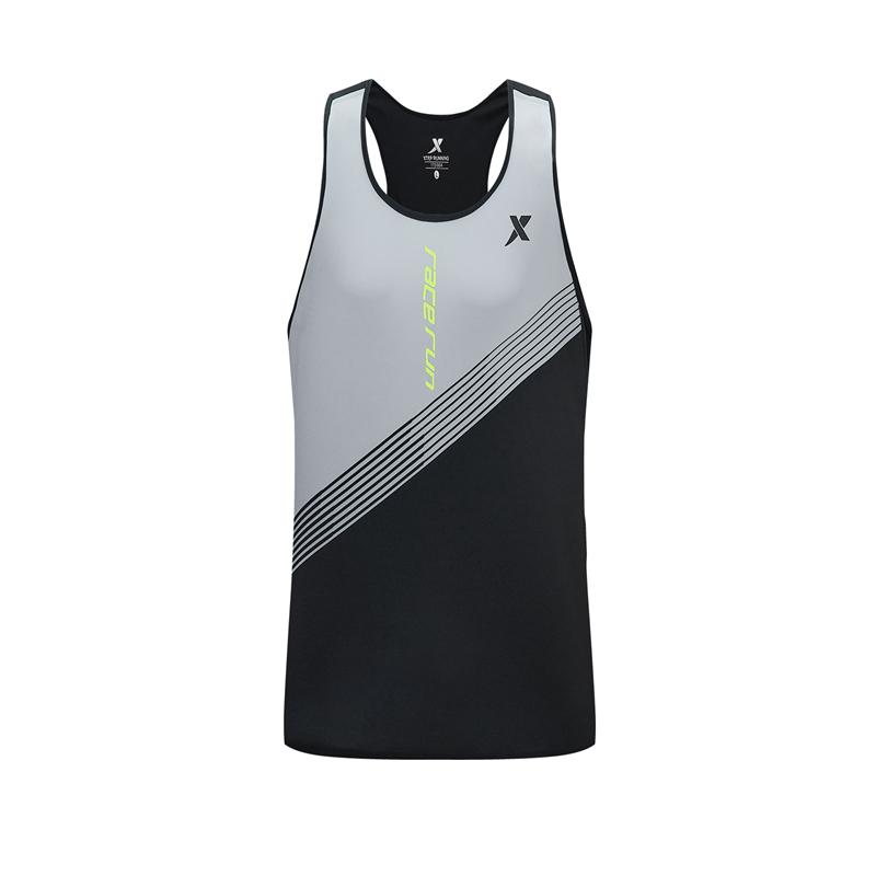 特步 专柜款 男子背心 20年新款 篮球跑步背心 透气运动T恤980329090399