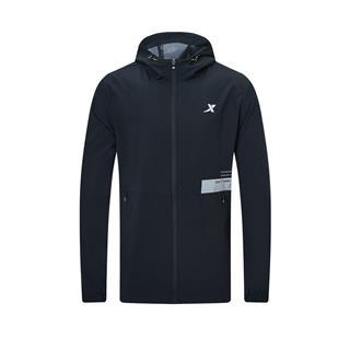 特步 专柜款 男子单外套 20年新款 防风潮流风衣夹克980329150404