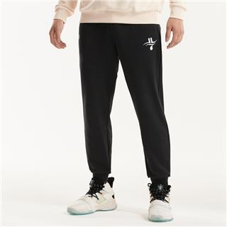 【林书豪联名】特步 男子长裤 20年新款款针织休闲运动长裤880329630140