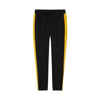 特步 专柜款 女子九分裤 20年新款 休闲百搭运动舒适九分针织裤980328840631