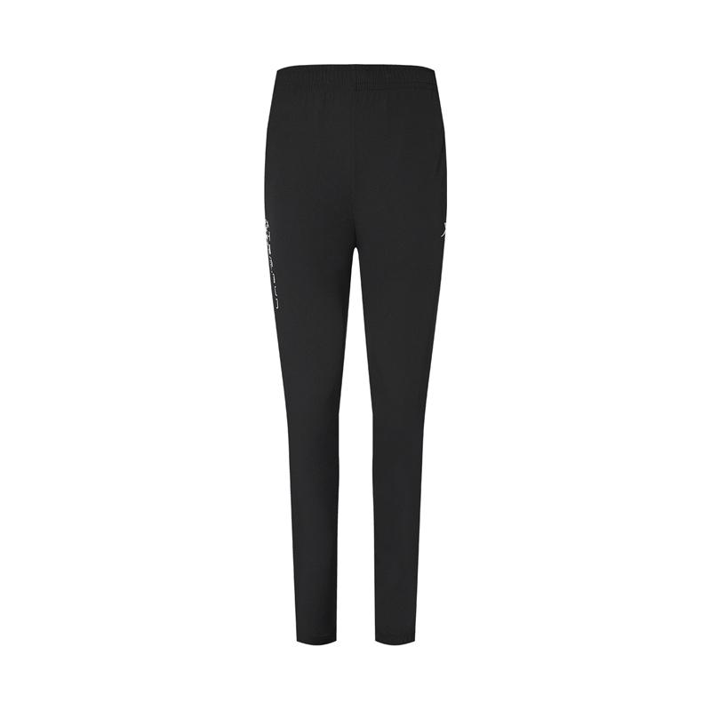 特步 专柜款 女子梭织裤 20年新款 梭织运动跑步长裤 980328980585