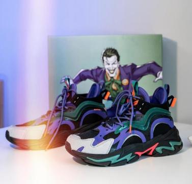 【小丑联名款】特步  男子休闲鞋 20年新款 复古撞色街头潮流老爹鞋 980319320630