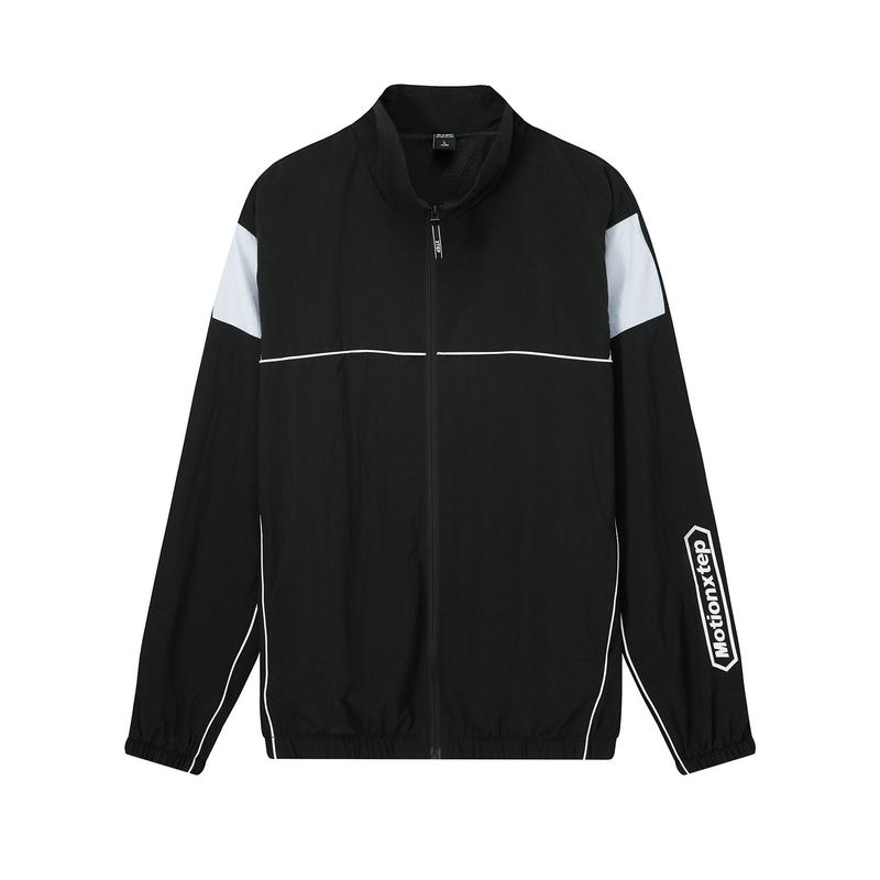 特步 男子双层夹克 20年新款 都市时尚潮流运动外套880329120142