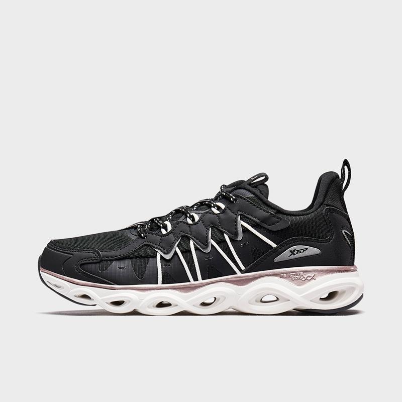 【减震旋6代】特步 专柜款 女子跑鞋新款 复古潮流女子运动跑步鞋980318110677
