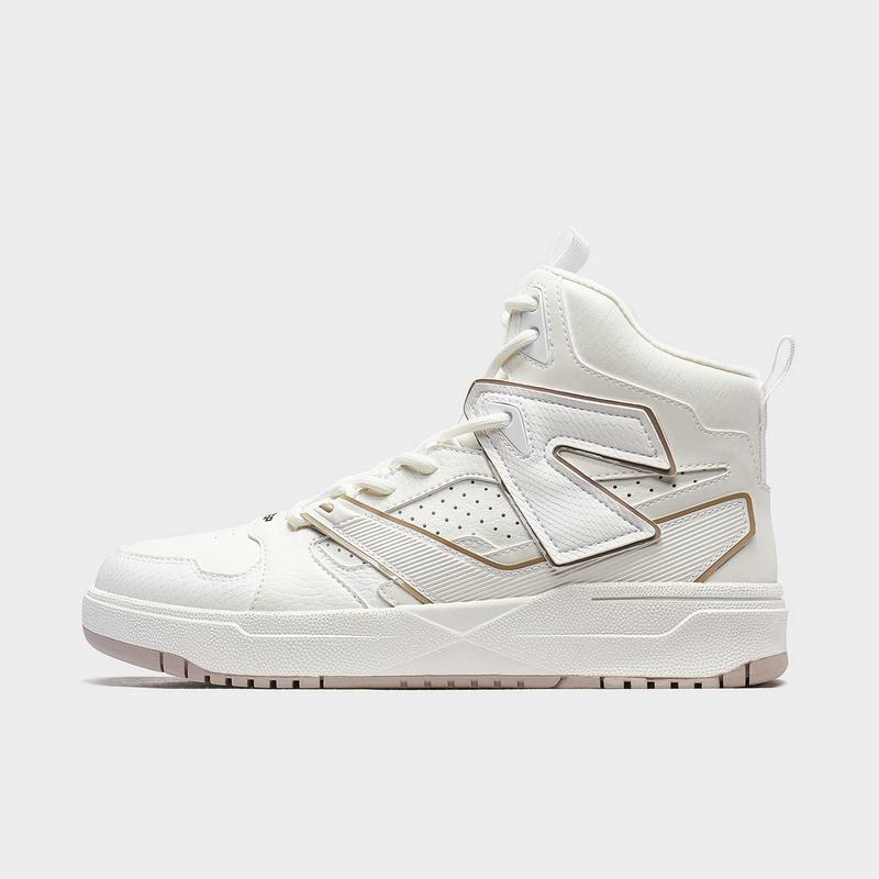 【二次元】特步 女子板鞋 新款 潮流都市休闲高帮板鞋880418310035