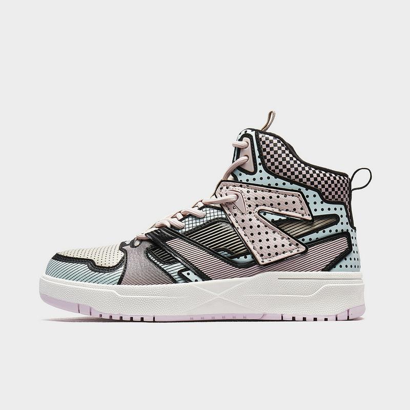 【二次元】特步 女子板鞋 新款 都市潮流滑板鞋女子休闲鞋880418310125