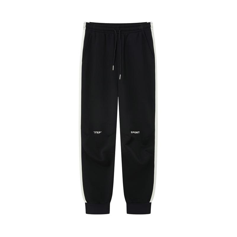 特步 女子针织长裤 20年新款 休闲百搭都市运动裤880428630059