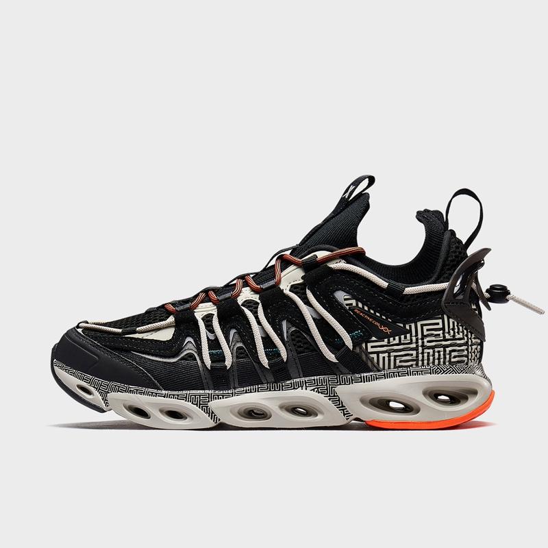 特步 专柜款 男子跑鞋 20年新款 复古潮流百搭男子街头运动跑步鞋980319110678