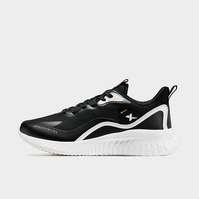 特步 专柜款 女子跑鞋 20年新款 运动时尚女子网面休闲运动跑步鞋980418110807