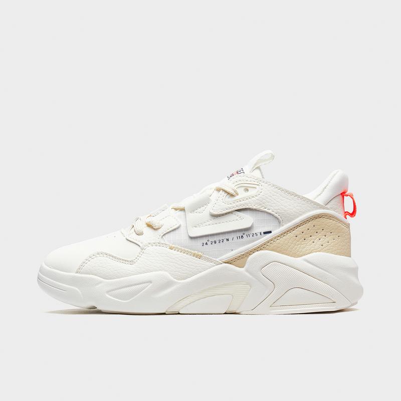 特步 专柜款 女子板鞋 20年新款 都市时尚休闲老爹鞋980418316781