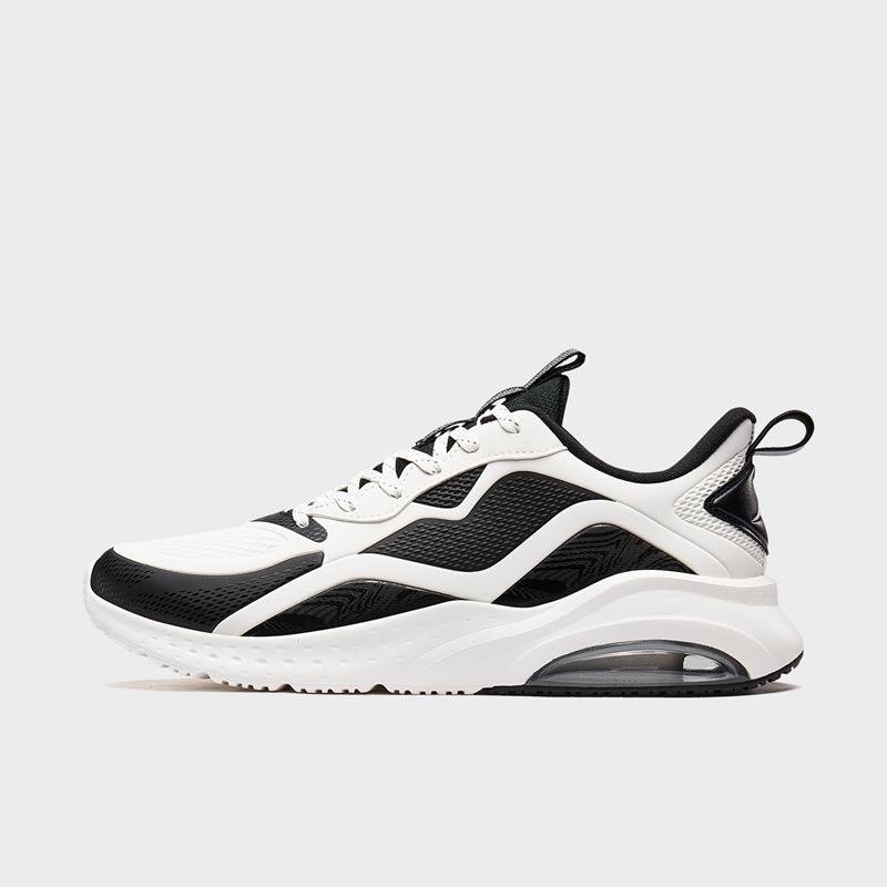 特步 专柜款 男子跑鞋 新款 时尚气垫轻便运动跑步鞋980419110720