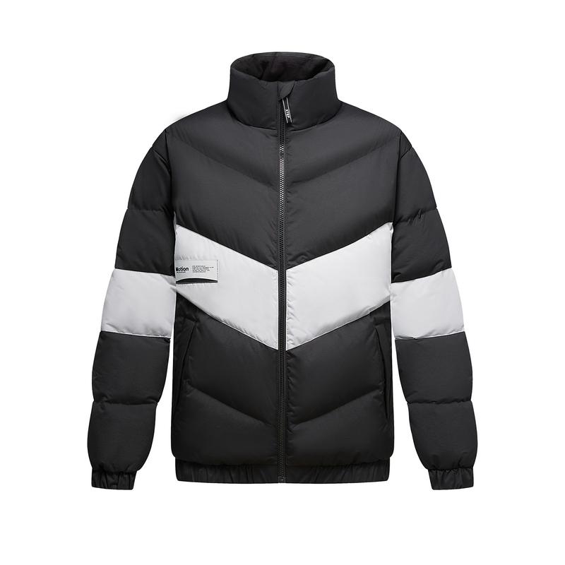 特步 男子羽绒服 20年冬季新款保暖羽绒服外套880429190038