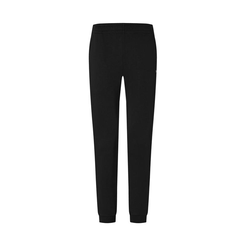 特步 专柜款 女子针织长裤 20年新款 修身时尚百搭运动长裤980428630101