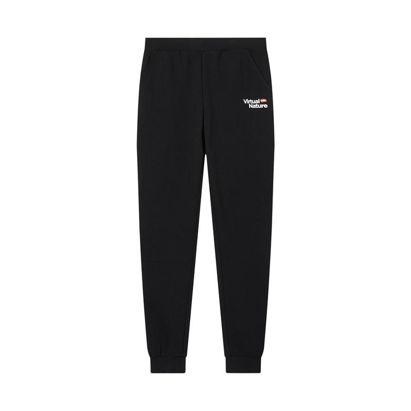 特步 专柜款 女子针织长裤 都市休闲运动长裤980428630218