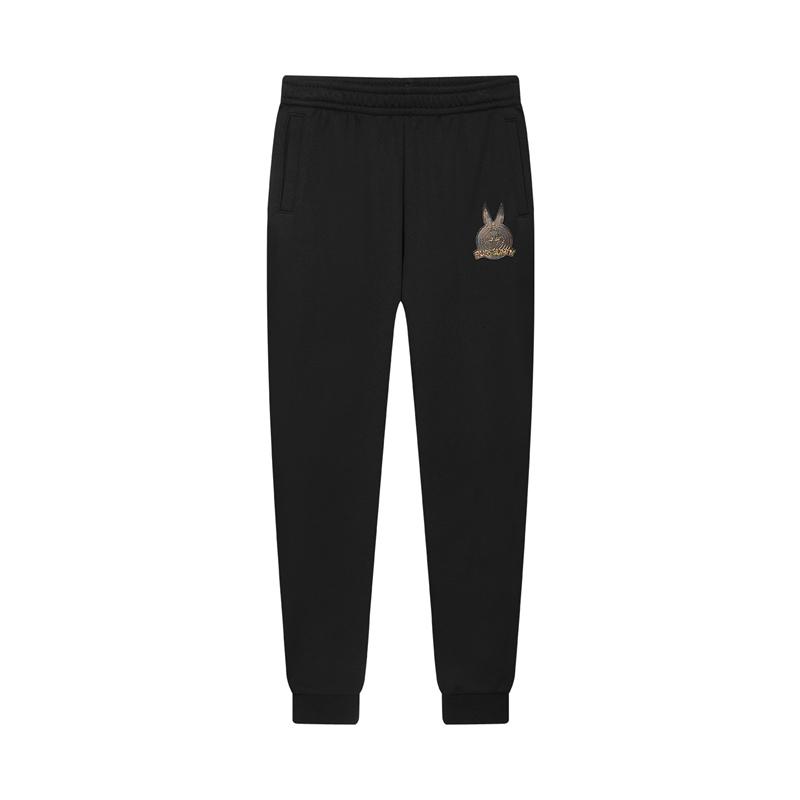 特步 专柜款 女子针织长裤 活力运动舒适百搭长裤980428630327