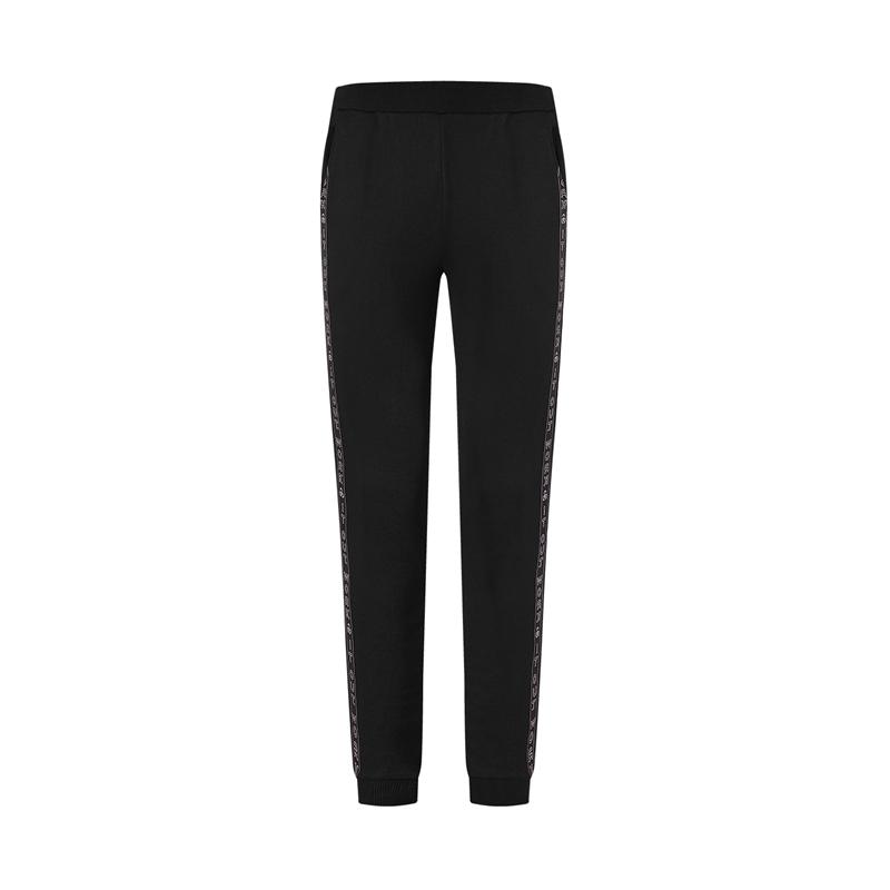 特步 专柜款 女子针织长裤 20年新款 舒适综训运动长裤980428630080