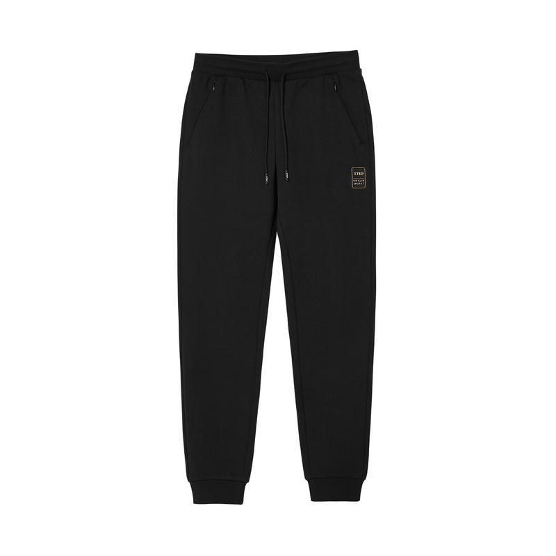 特步 专柜款 女子针织长裤 20年新款 都市系带休闲长裤980428630222
