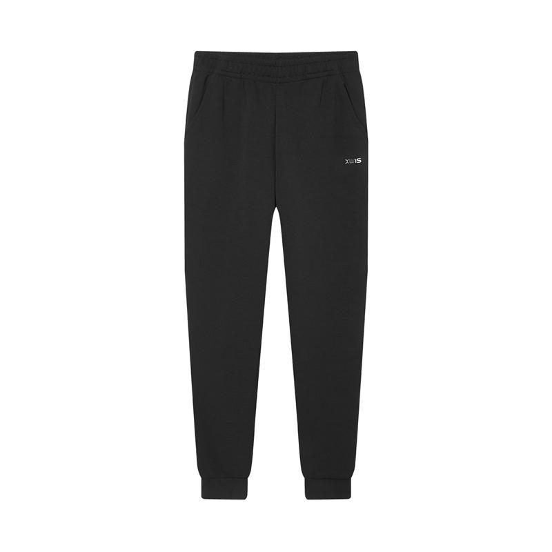 特步 专柜款 女子针织长裤 综训跑步运动健身长裤980428630568