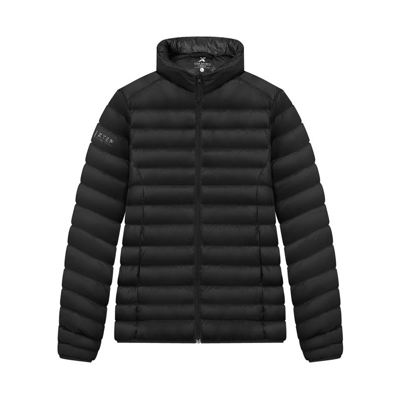 特步 专柜 男子羽绒服 20年新款 户外防寒保暖羽绒服980429190537