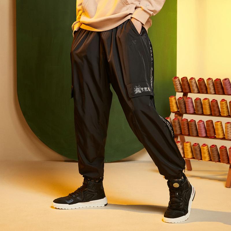 【天乘京绣】特步 男子休闲裤 非遗联名京绣系列运动裤880329560241