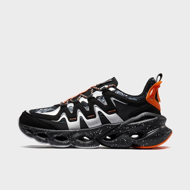 特步 男子跑鞋 20年新款 都市潮流厚底减震运动跑步鞋880419116595