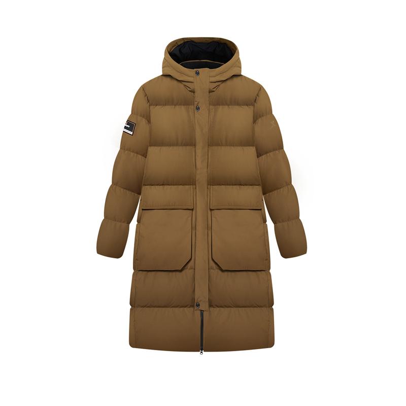 专柜款 男子羽绒服 新款 都市时尚中长款保暖棉服 980429190204