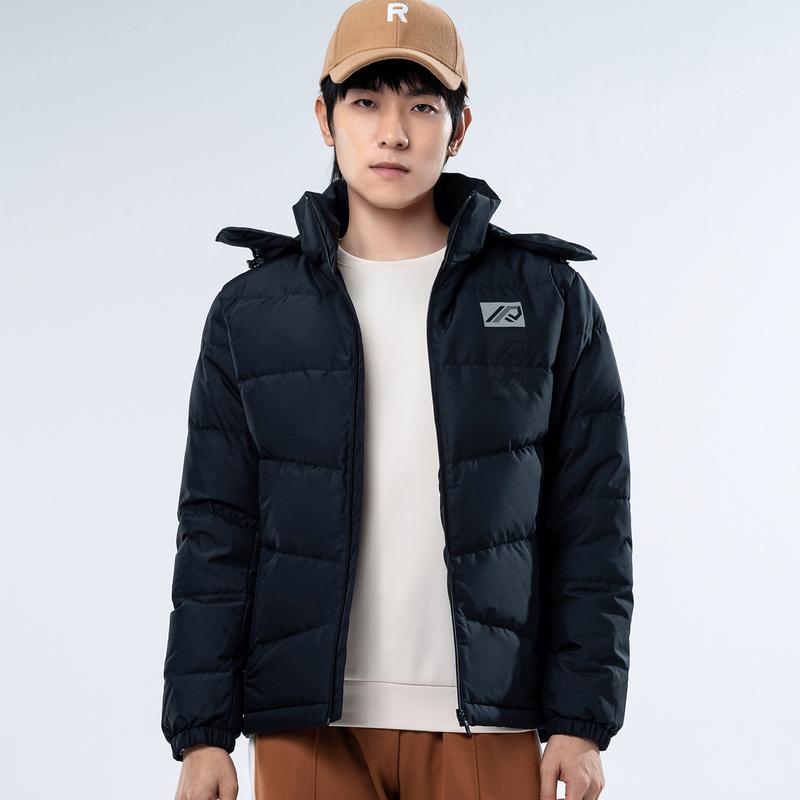 特步 专柜款 男子羽绒服 20年新款  都市时尚百搭运动外套980429190301