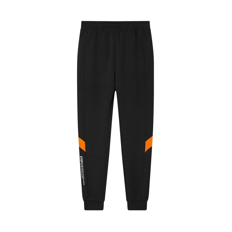 特步 专柜款 男子针织长裤 20年新款 都市活力百搭针织裤980429630023
