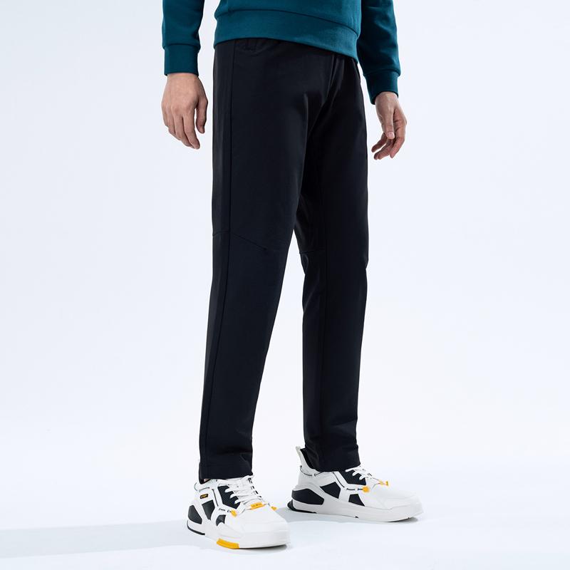 特步 专柜款 男子梭织长裤 20年新款 都市时尚运动休闲长裤980429980286