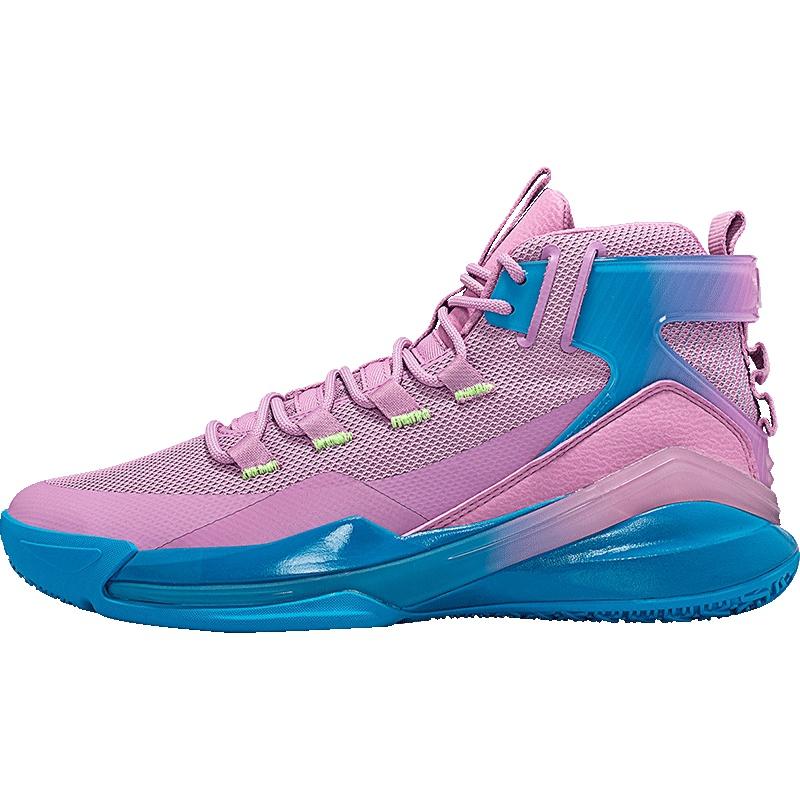 特步 男子篮球鞋 20年新款 时尚网面透气运动球鞋880419126556