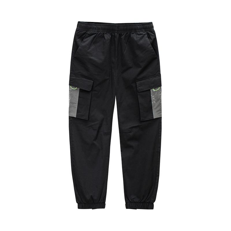 特步 专柜款 男子梭织长裤 20年新款 都市百搭休闲裤980329560386