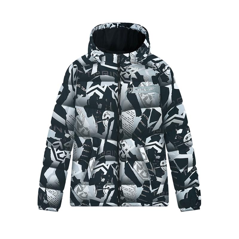 专柜款 男子羽绒服 新款 运动保暖羽绒外套980429190310
