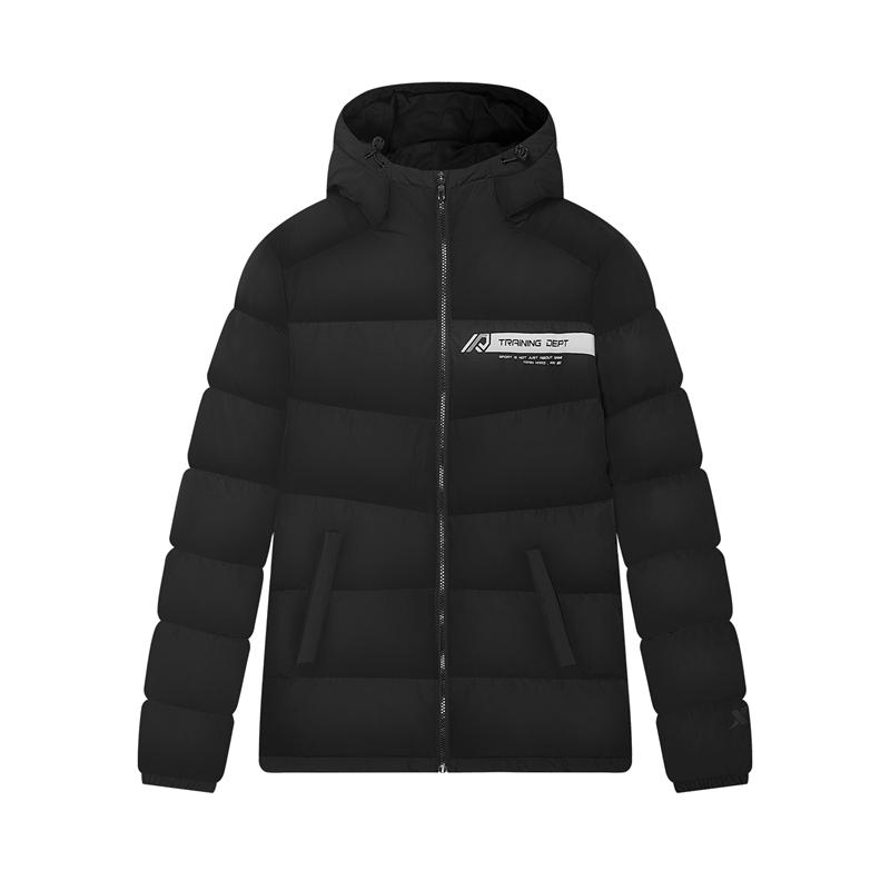 特步 专柜款 男子羽绒服 20年新款 运动保暖羽绒外套980429190310