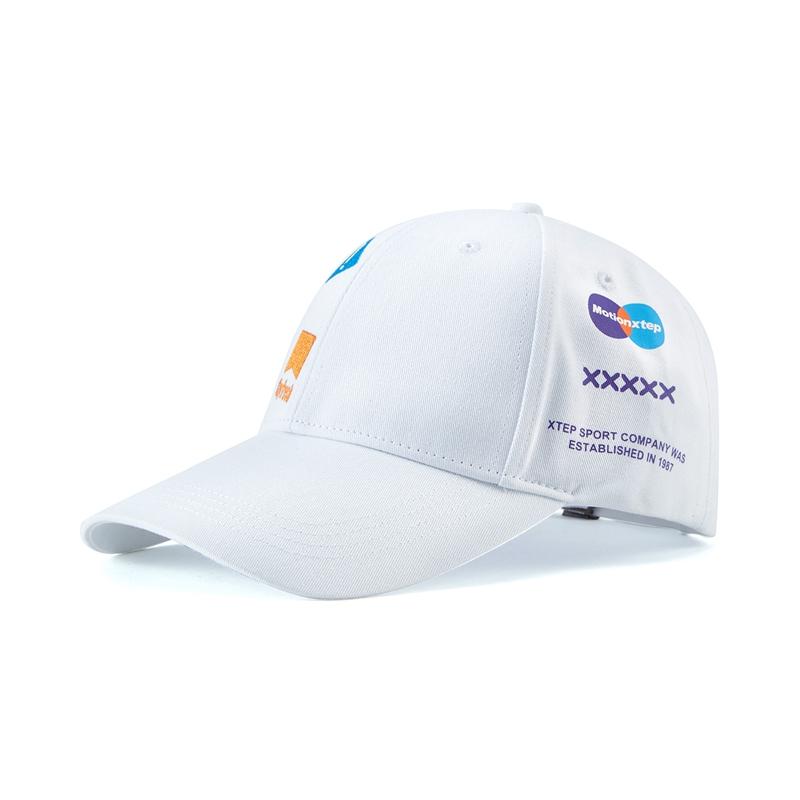 特步 男女运动帽 新款 遮阳防晒时尚鸭舌帽880337210005