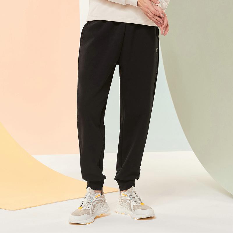 特步 男子针织裤 20年新款 运动休闲百搭收口针织长裤880329630221