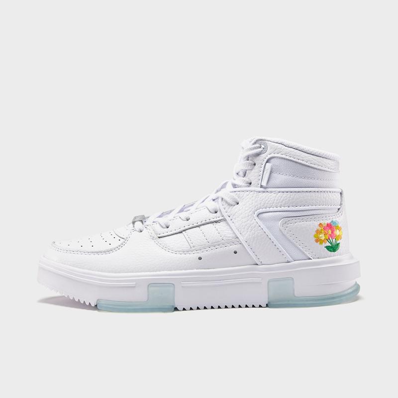 【林书豪系列】特步 女子篮球鞋 新款 高帮透气百搭球鞋880418126571