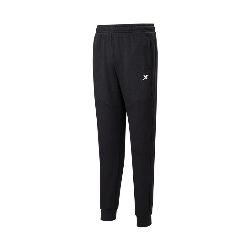 特步 女子针织长裤 20年新款 加绒跑步休闲运动长裤880428630152