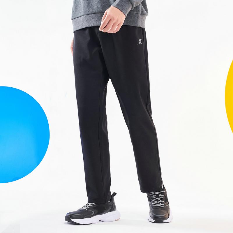 特步 男子针织长裤 20年新款 休闲时尚百搭散口加绒针织裤880429630143