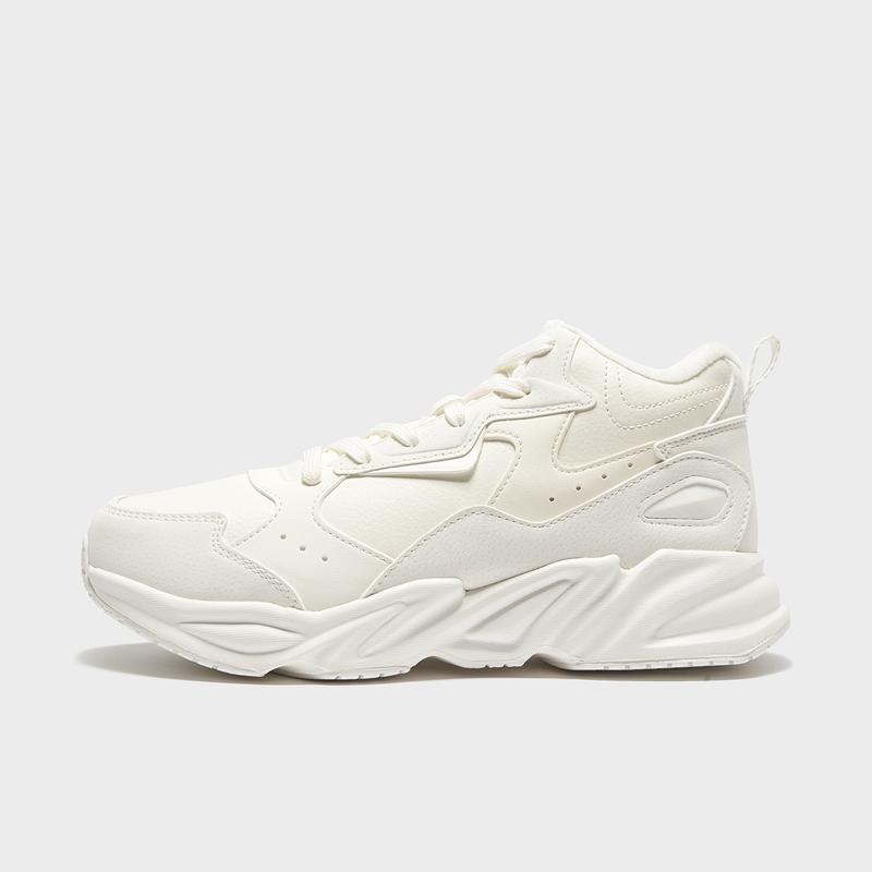 特步 专柜款 女子棉鞋 20年冬季新款 厚底保暖休闲老爹鞋980418371207