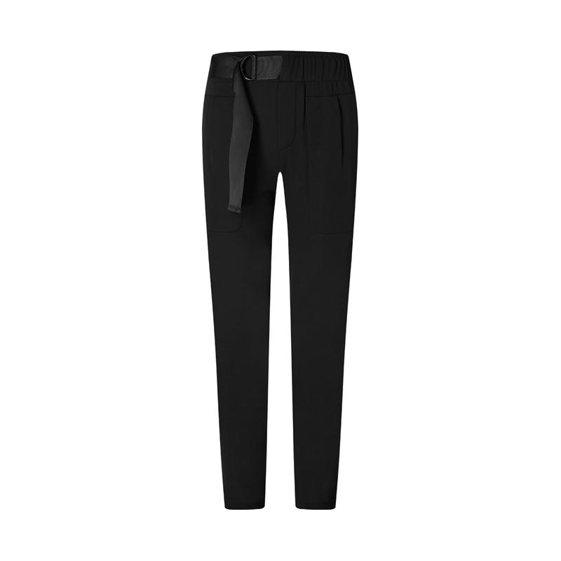 特步 专柜款 女子梭织长裤 20年新款 时尚跑步运动长裤980428980440