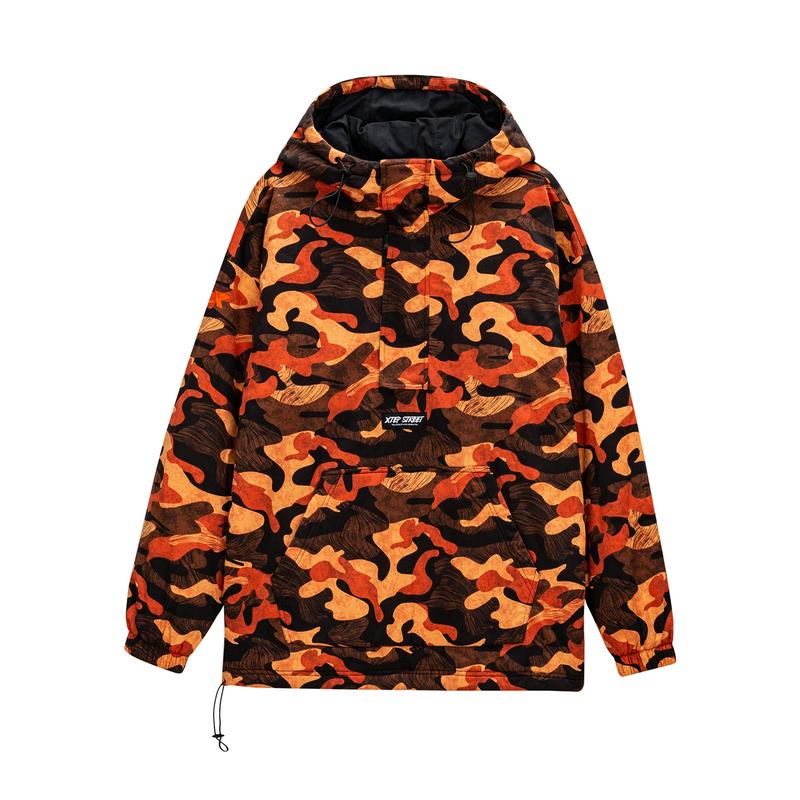 特步 专柜款 男子棉服 新款 街头时尚潮流男子保暖外套980429180403