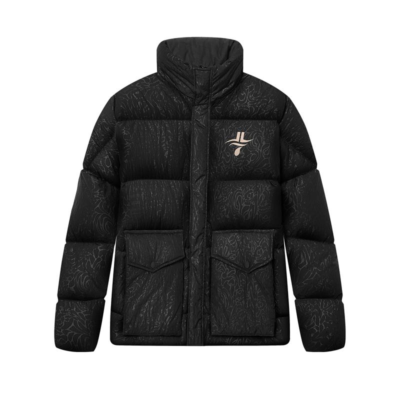 【林书豪联名】特步 专柜款 男子羽绒服 新款运动篮球时尚外套980429190184