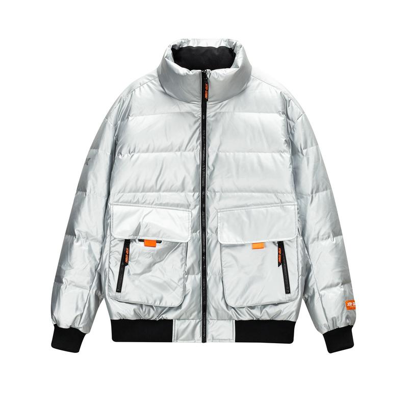 特步 专柜款 男子羽绒服 冬季新款 时尚潮流保暖外套980429190405