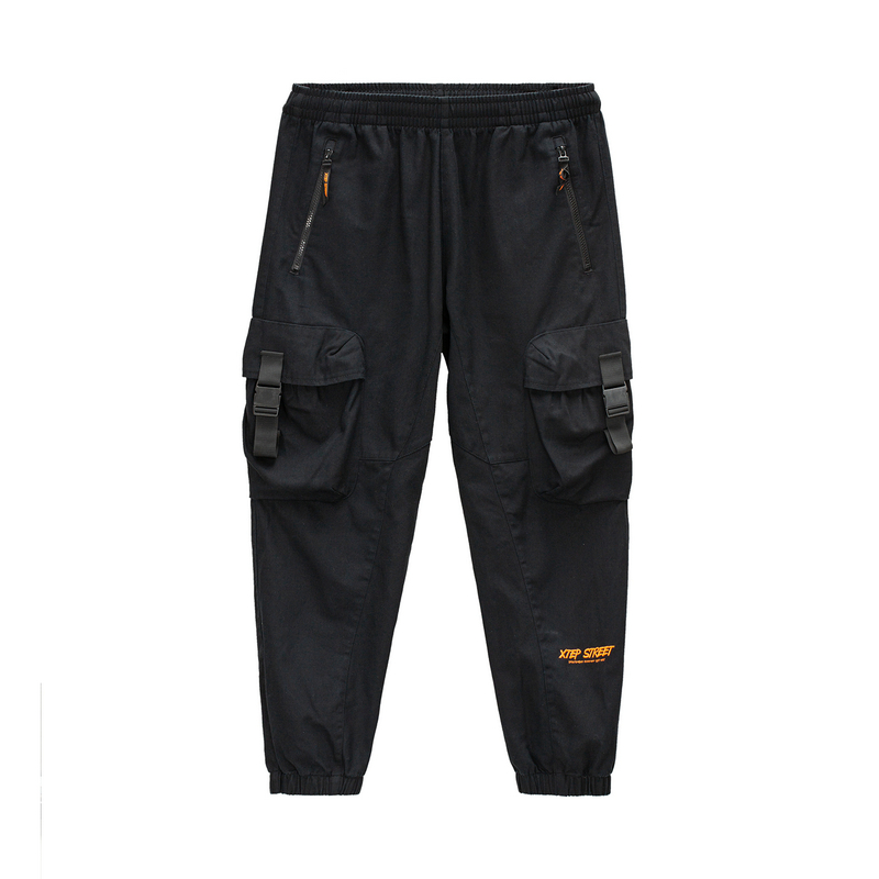 特步 专柜款 男子梭织长裤 20年新款 街头百搭潮流休闲长裤980429560253