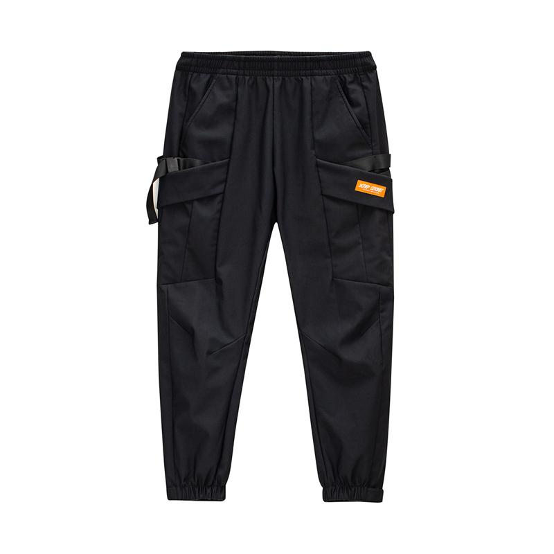 特步 专柜款 男子梭织长裤 20年新款 街头时尚百搭休闲裤980429560468