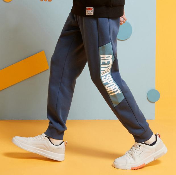 特步 男子针织长裤 20年新款 舒适休闲运动针织裤880429630089