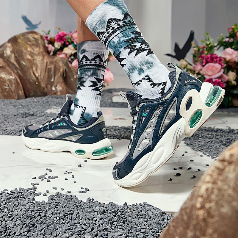 【山海系列】男子休闲鞋 新款山海比翼气垫老爹鞋880319320063